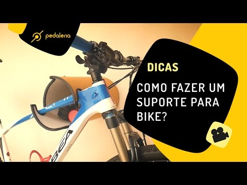 Como fazer um suporte de parede para bike? Pedaleria