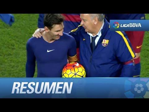 Resumen de FC Barcelona (4-0) Granada CF