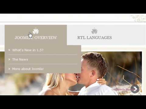 Joomla template: JM-Wedding04