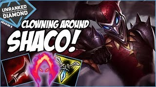 CLOWNING AROUND ON SHACO! - Unranked to Diamond - Ep. 125 | League of Legends