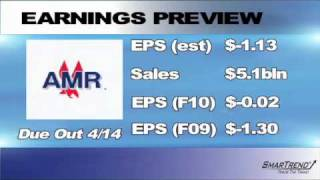 Earnings Preview for AMR Corp: April 08, 2010