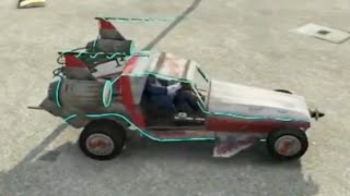 GTA V - Space Docker Off Road - Low Gravity Vehicle