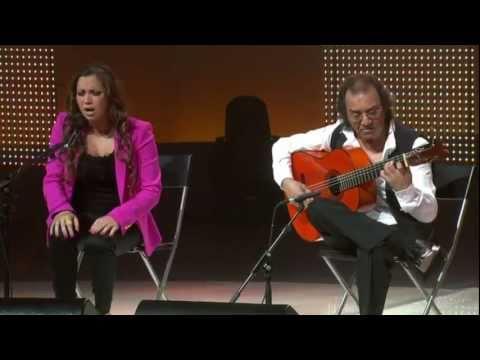 Pepe Habichuela y Tamara Escudero. Al pie de un almendro