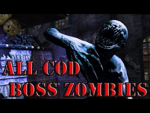 ALL CALL OF DUTY BOSS ZOMBIES (WAW-BO2)