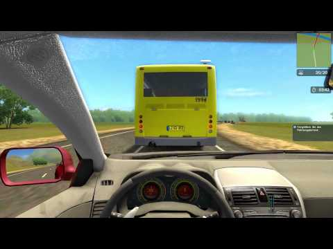 #005 Let's Play City Car Driving - Karriere HD [Deutsch] [Full-HD]