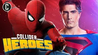 Spider-Man Swings Back to the MCU, Brandon Routh is Superman Again! - Heroes