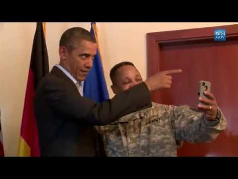 Obama's Year In Selfies