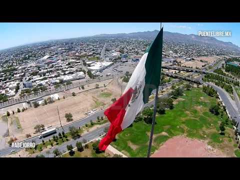 #Abejorro: Mega Bandera de Ciudad Juárez
