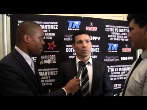 SERGIO MARTINEZ: Miguel Cotto Is Not A Man!
