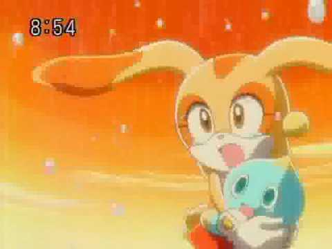 Sonic X Sad Moments - Cream and Emerl (RAW)