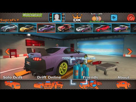 Mobile Ios - Dubai Drift - First Thoughts  + Online Drifting! video