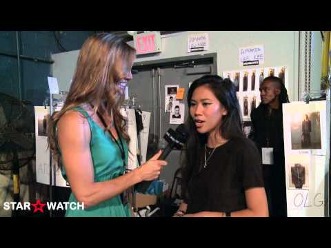 Amanda Lewkee interview at 2013 New York Fashion Week spring/summer collections