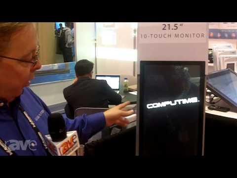 InfoComm 2013: CompuTime Demos TRU Touch Monitor