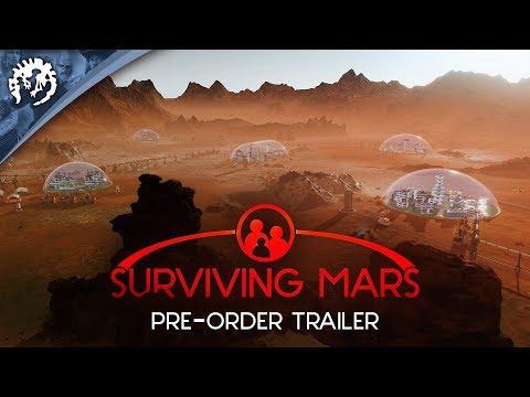 "Surviving Mars - Pre-Order Trailer ""Life on Mars"""