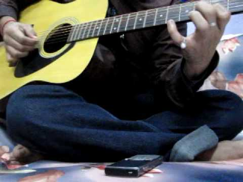mohabbatein theme on guitar.MOV