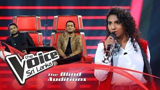 Ridmavi Anthony  - Listen | Blind Auditions | The Voice Sri Lanka