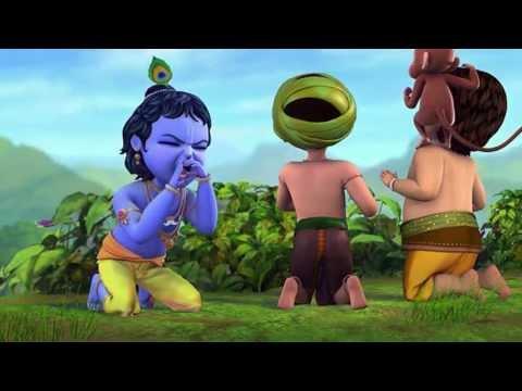 Kiran Flute - Little Krishna - Making Fun With The Friends video