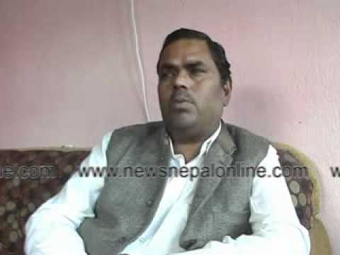 Interview with Upendra Yadav, Chairman, M J F Nepal on 17-03-2012. Part - I