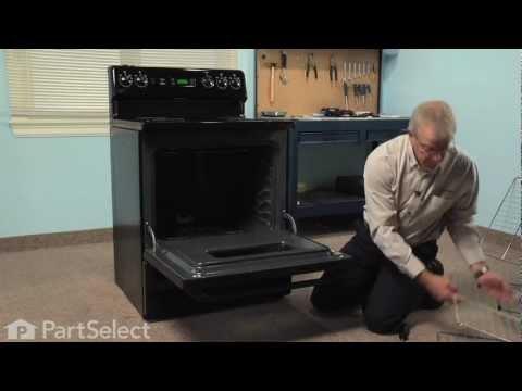 Range/Stove/Oven Repair - Replacing the Bake Element (GE Part # WB44K