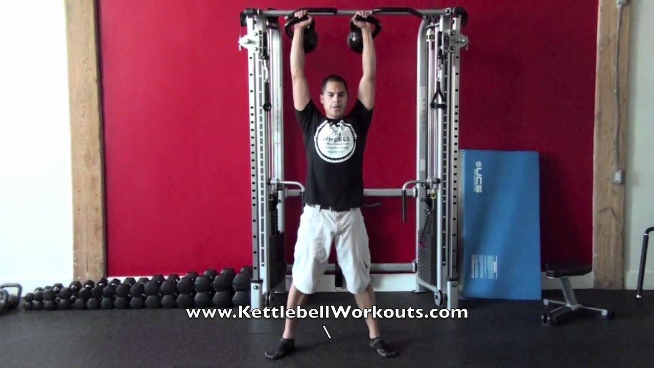 Squat Clean Workout Clean Squat Press