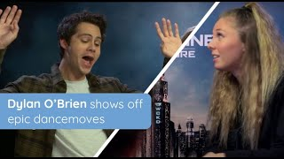 Dylan O'Brien shows off epic dancemoves