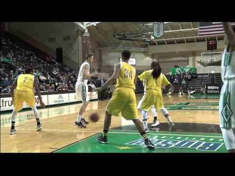 UND Men's Basketball vs. Northern Arizona Post Game Wrap Feb. 26, 2015