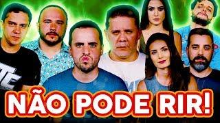 NÃO PODE RIR! com Wendel Bezerra, Nathália Arcuri, Érico Borgo, Janaína Isabel e Gui Toledo