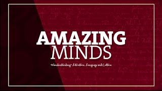 Amazing Minds, Wonderstanding Literature, Language and Culture