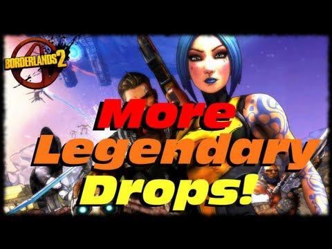 Borderlands 2 Random Legendary Box Drops! I Got Lucky Last Night In Thousand Cuts! (1080p)