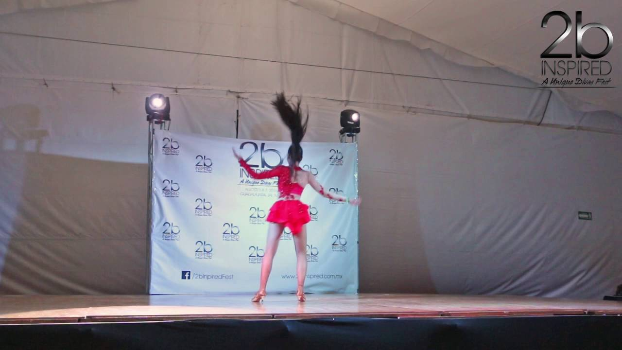 Gabriela Diaz | Salsa Soloista Juniors | 2b Inspired 2016