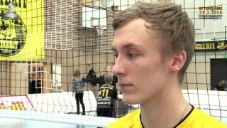 Tiikerit - Isku Volley la 21.2.2015 Lauri Jylhä