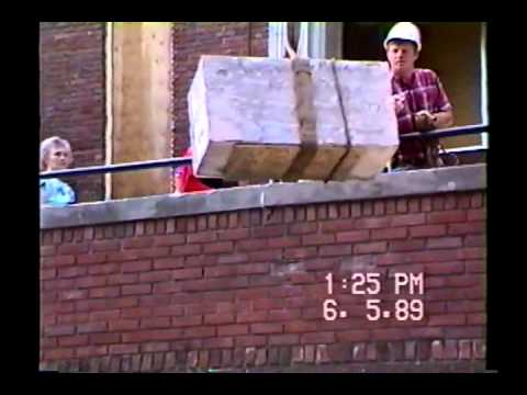 1989 Old Faribault Junior High Demolition & 1913 Time Capsule Opening - Part 1