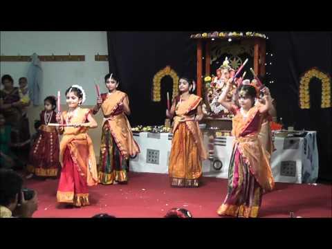 Anivasi Bharathi - Public Ganesha Festival - Gallu Gallenutha video