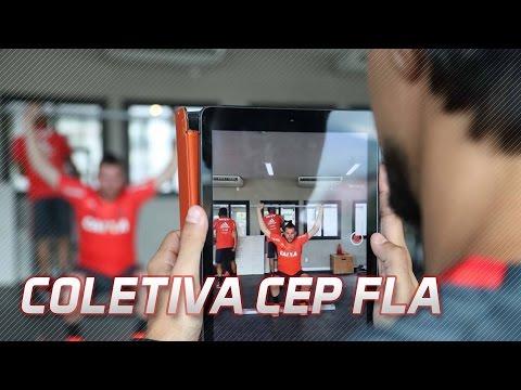 Transmissão ao vivo – Staff do CEP FLA