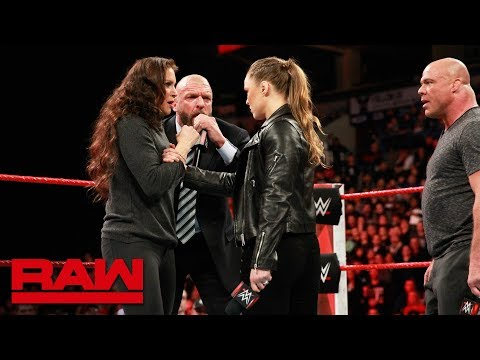 Ronda Rousey gets her WrestleMania match: Raw, March 5, 2018 thumbnail