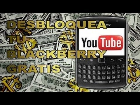 Como liberar CUALQUIER Blackberry gratis