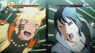 Naruto & Sasuke vs Madara Full Boss Battle (English Dub) - Naruto Shippuden Ultimate Ninja Storm 4