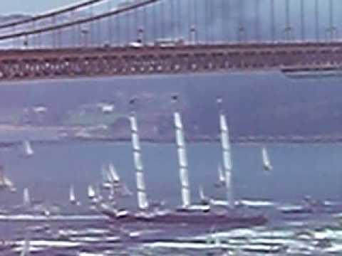 Maltese Falcon comes into San Francisco