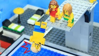 Lego Swimming Pool:  Jump Into The Heaven