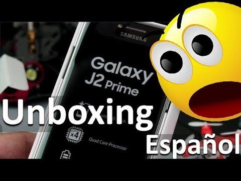 Samsung Galaxy J2 Prime Español Unboxing - Características y Especificaciones