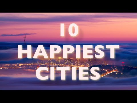 America's 10 Happiest Cities (Number 1 Will Surprise You) | Kicking Back with Ana and Dave