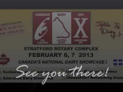 BRITESPAN at the Canadian Dairy Xpo   February 6 & 7, 2013