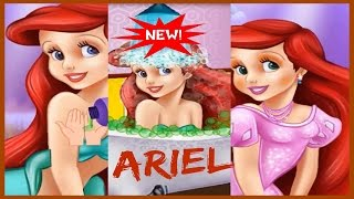 Play Princess Ariel Royal Bath Video Game Now-Best Fairy tales Games-Beauty Makeover Game Videos