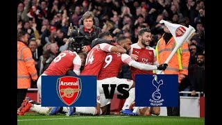 Arsenal vs Tottenham 4-2 Highlights All Goals 02/12/2018 HD