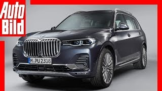 BMW X7 (2018) Sitzprobe / Review / Test