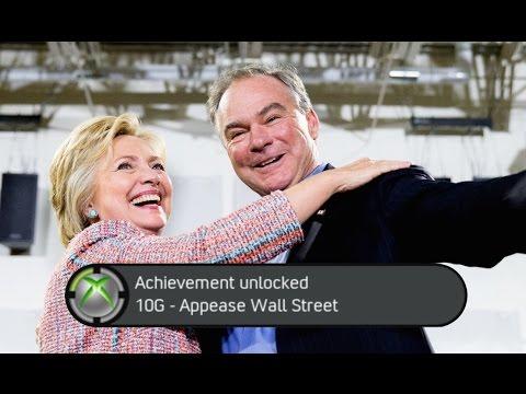 Hillary Clinton Chooses Corporatist Democratic Senator Tim Kaine as VP Running Mate