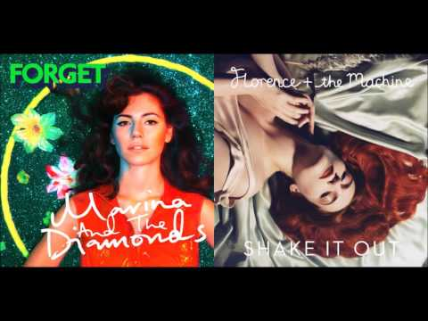 Forget & Shake It Out - Florence + The Machine & Marina and the Diamonds (Mashup)