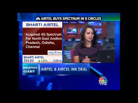 Airtel Buys Spectrum In 8 Circles From Aircel
