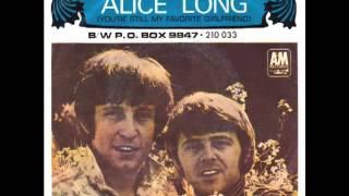 Watch Tommy Boyce  Bobby Hart Alice Long video