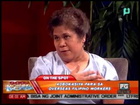 GMB: Panayam kay Ms. Elena Sana, kaugnay sa abokasya para sa OFWs [08/08/14]